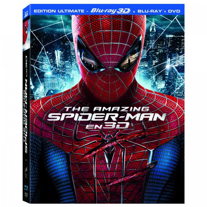 SORTIE DE THE AMAZING SPIDER-MAN EN BLU-RAY