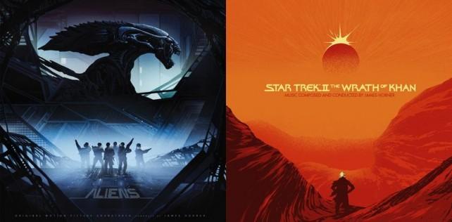 LP RELEASES: ALIENS, STAR TREK II, SPIDER-MAN