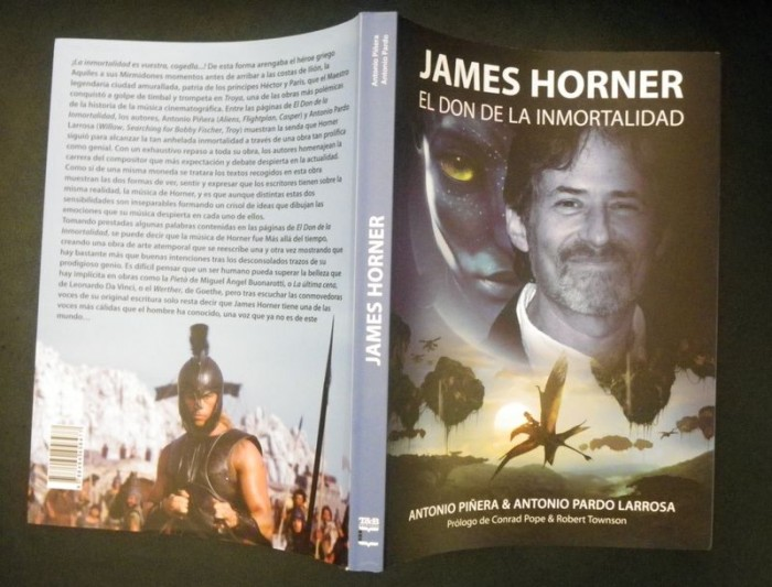 BOOK REVIEW:  JAMES HORNER – EL DON DE LA INMORTALIDAD