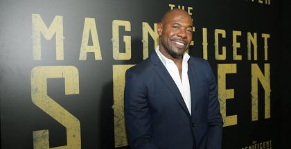 "LAS VEGAS, NV - April 12th 2016 Director Antoine Fuqua seen at MGM and Columbia Pictures ""The Magnificent Seven"" photo call at An Evening with Sony Pictures Entertainment: Celebrating The Summer of 2016 and Beyond at 2016 CinemaCon"