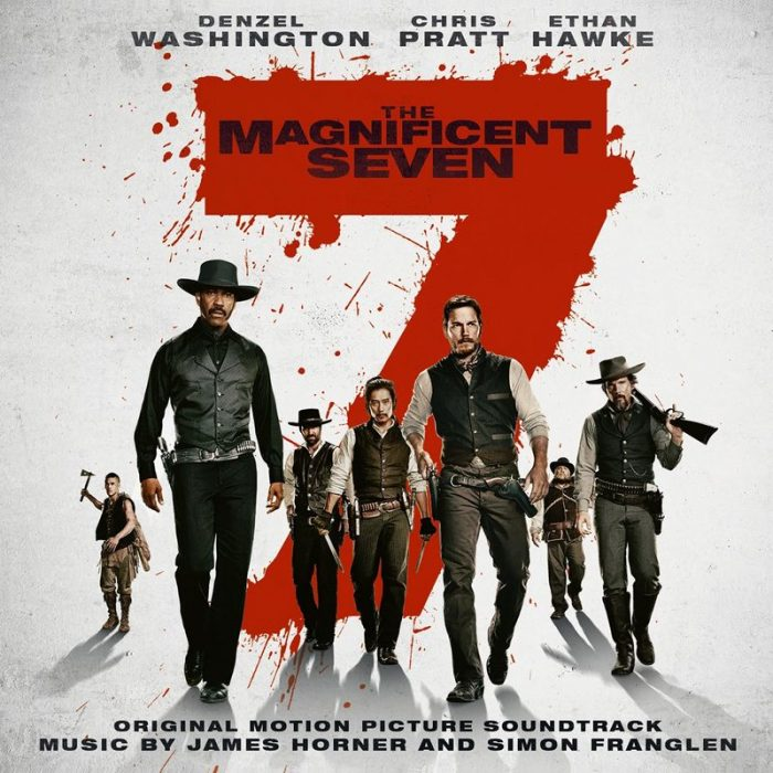 THE MAGNIFICENT SEVEN: COVER, DURATION AND TRACKLIST REVEALED