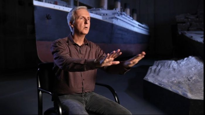 JAMES CAMERON TALKS JAMES HORNER