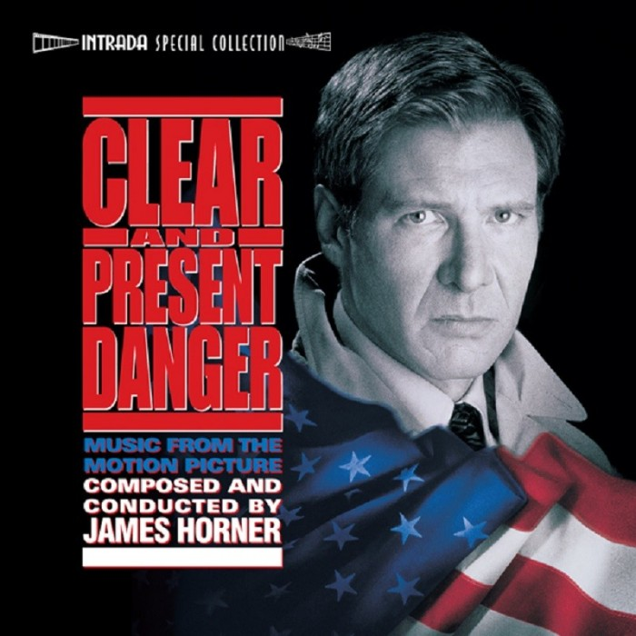 CLEAR AND PRESENT DANGER 2-CD RELEASED BY INTRADA