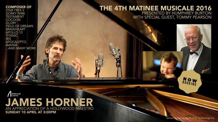 ALDEBURGH CINEMA'S MATINEE MUSICALES TO REMEMBER JAMES HORNER