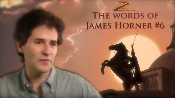 THE WORDS OF JAMES HORNER #6: THE MASK OF ZORRO