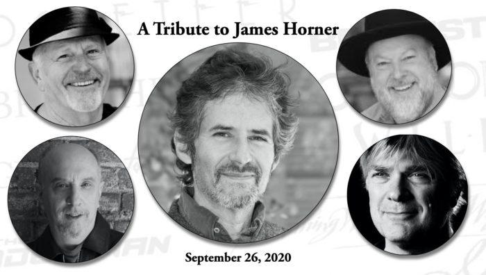 ONLINE TRIBUTE TO JAMES HORNER, SEPTEMBER 26, 2020